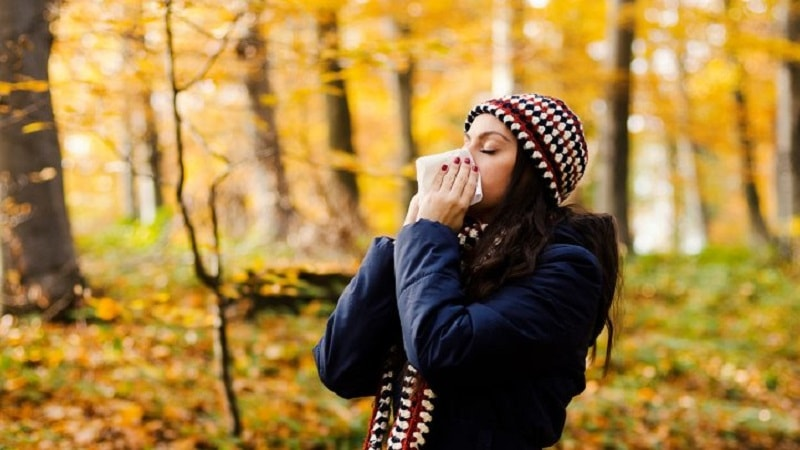 حساسیتهای فصل پاییز