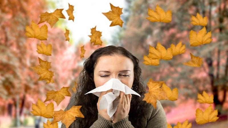 آلرژیهای فصل پاییز