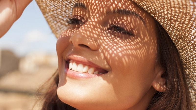 استفاده از کلاه برای مراقبت از پوست در آفتاب