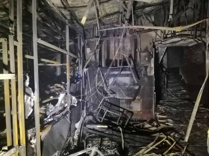 تصاویر انفجار کلینیک سینا