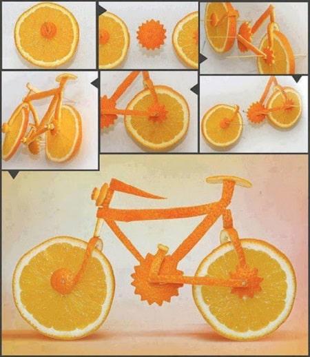تزیین پرتقال شب یلدا
